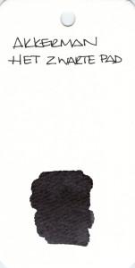 BLACK AKKERMAN HET ZAARTE PAD