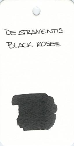 BLACK DE ATRAMENTIS BLACK ROSES