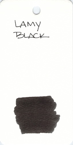 * BLACK LAMY BLACK
