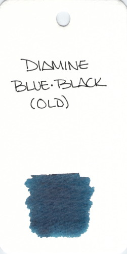 * BLUE DIAMINE BLUE BLACK OLD