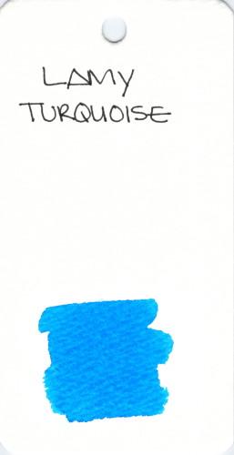 * BLUE LAMY TURQUOISE