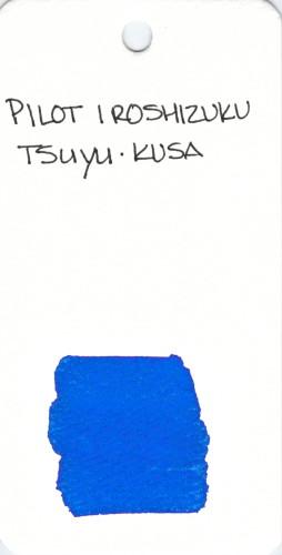 * BLUE PILOT IROSHIZUKU TSUYU KUSA