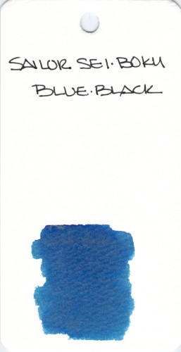 * BLUE SAILOR SEI BOKU BLUE BLACK