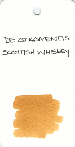 * BROWN DE ATRAMENTIS SCOTTISH WHISKEY