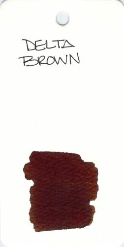 * BROWN DELTA BROWN