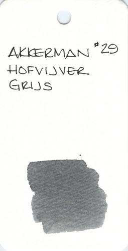 GRAY AKKERMAN HOFVIJVER GRIJS 29