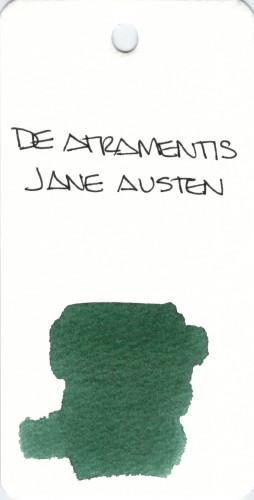 * GREEN DE ATRAMENTIS JANE AUSTEN