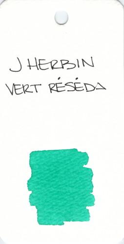 * GREEN J HERBIN VERT RESEDA