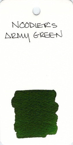 * GREEN NOODLERS ARMY GREEN