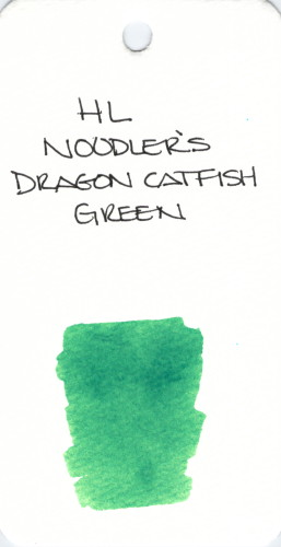 * GREEN NOODLERS DRAGON CATFISH GREEN SPECIALTY INKS013
