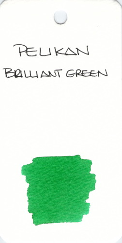* GREEN PELIKAN BRILLIANT GREEN