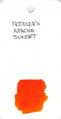 * ORANGE NOODLERS APACHE SUNSET