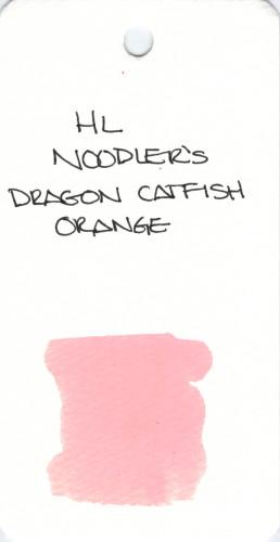 * ORANGE NOODLERS DRAGON CATFISH ORANGE SPECIALTY