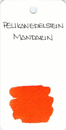 * ORANGE PELIKAN EDELSTEIN MANDARIN