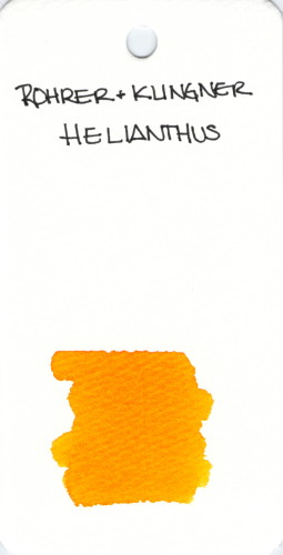 * ORANGE ROHRER & KLINGNER HELIANTHUS