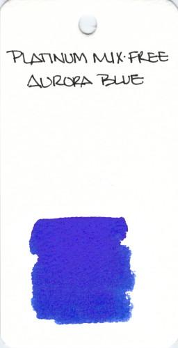 * PLATINUM MIX-FREE AURORA BLUE