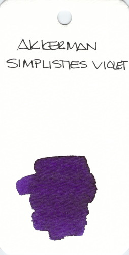 * PURPLE AKKERMAN SIMPLISTIES VIOLET