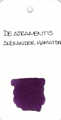 * PURPLE DE ATRAMENTIS ALEXANDER HAMILTON