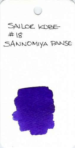 * PURPLE SAILOR 18 SANNOMIYA PANSE 008