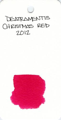 * RED DE ATRAMENTIS CHRISTMAS RED 2012