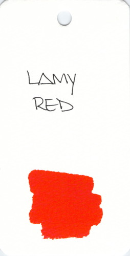 * RED LAMY RED