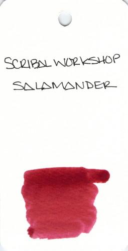* RED SCRIBAL WORKSHOP SALAMANDER