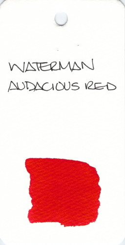 * RED WATERMAN RED