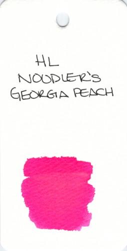 * SPECIALTY INKS NOODLERS GEORGIA PEACH