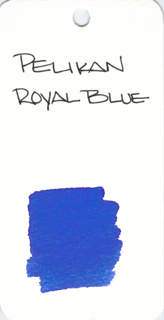 * BLUE PELIKAN ROYAL BLUE