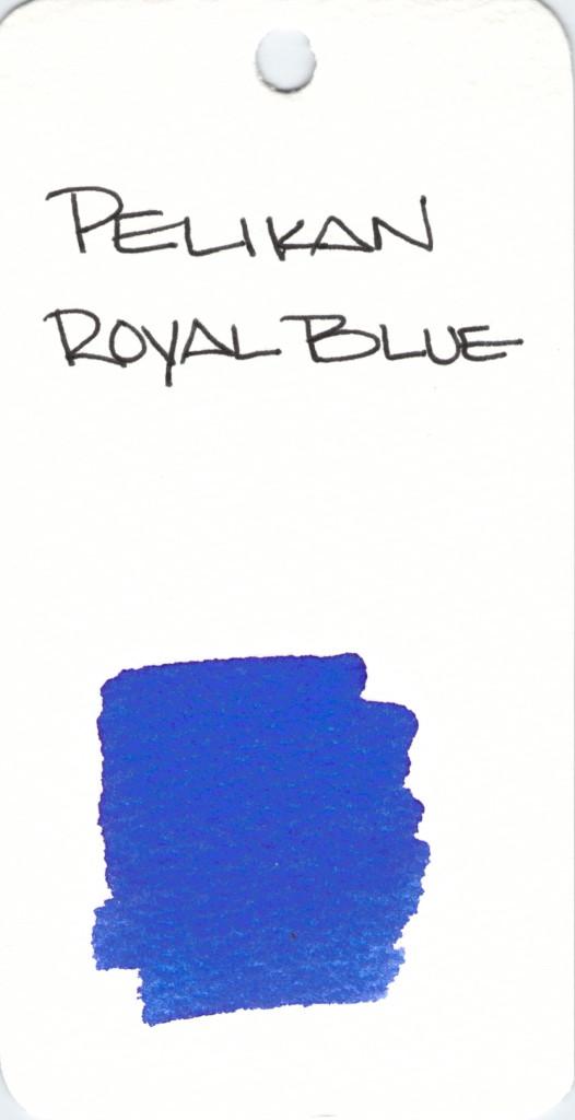 * BLUE PELIKAN ROYAL BLUE