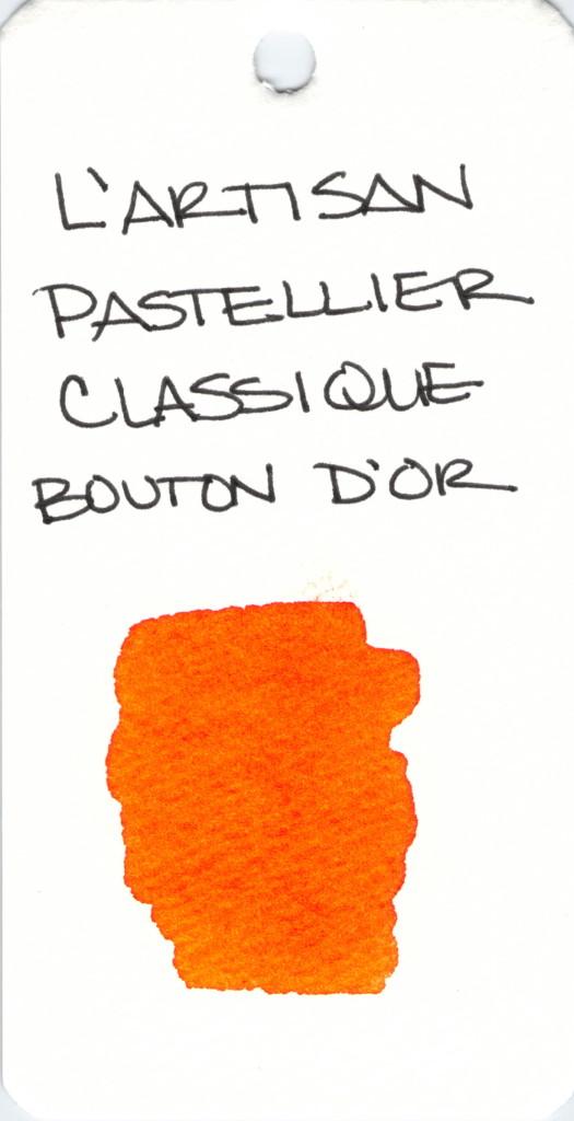 * ORANGE L'ARTISAN PASTELLIER CLASSIQUE