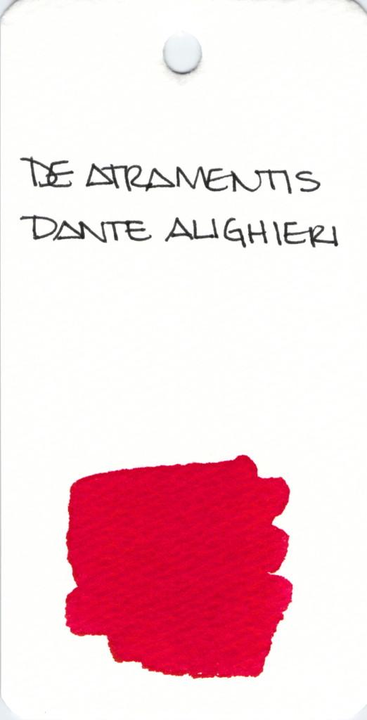 * RED DE ATRAMENTIS DANTE ALIGHIERI