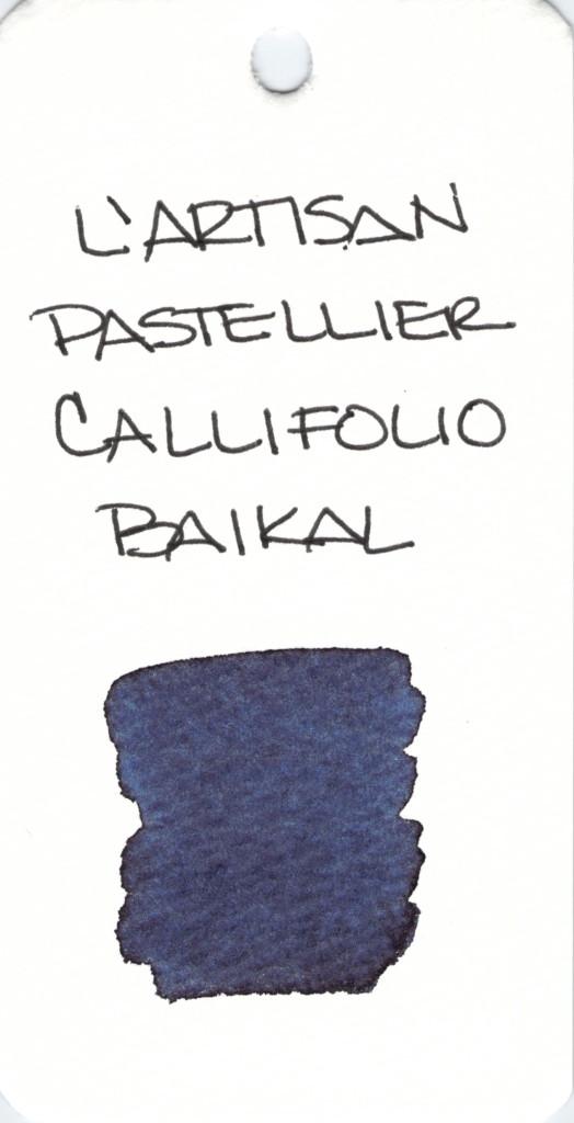 * BLUE L'ARTISAN PASTELLIER CALLIFOLIO BAIKAL