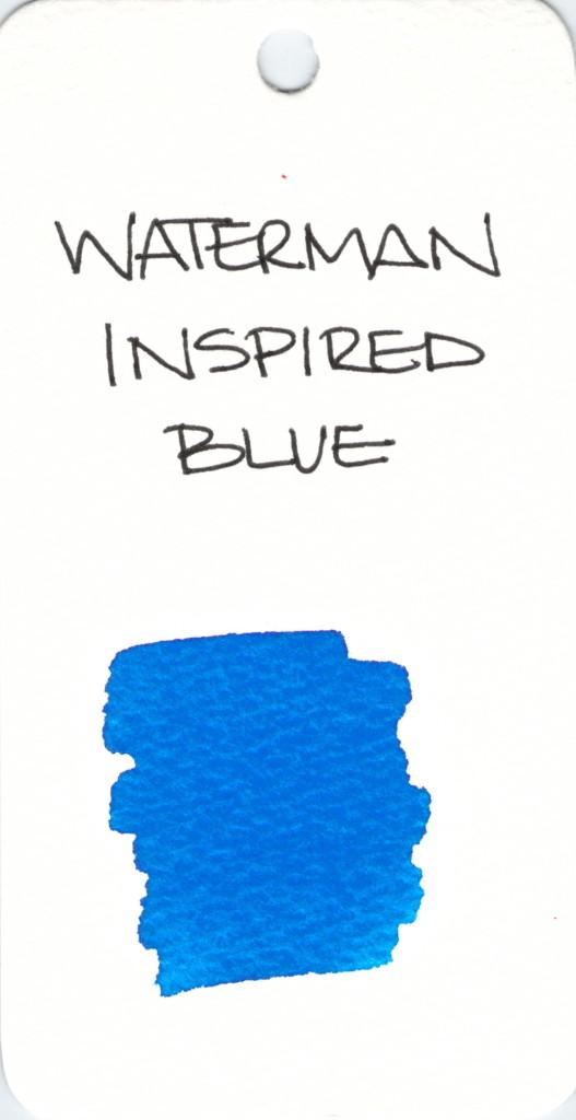 * BLUE WATERMAN INSPIRED BLUE