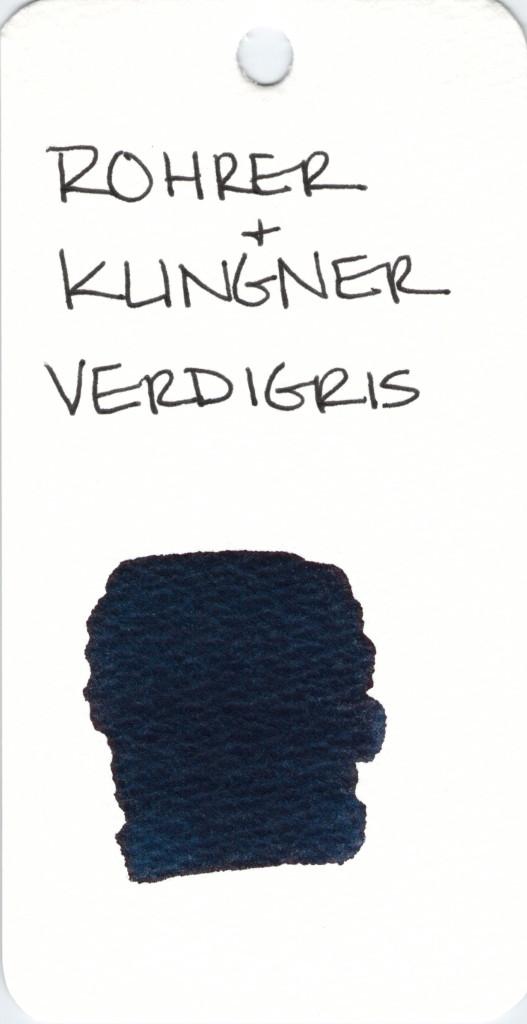 * GRAY ROHRER & KLINGNER VERDIGRIS