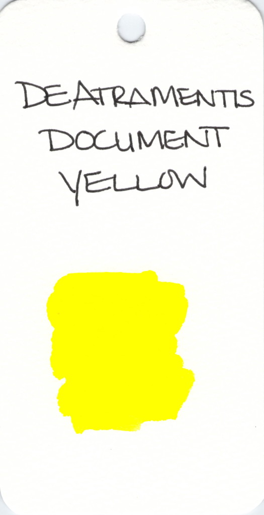 * YELLOW DE ATRAMENTIS DOCUMENT YELLOW